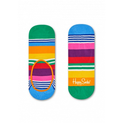 multistripe liner socks multicolor