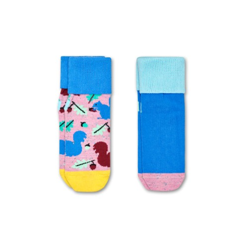 kids squirrel anti-slip socks